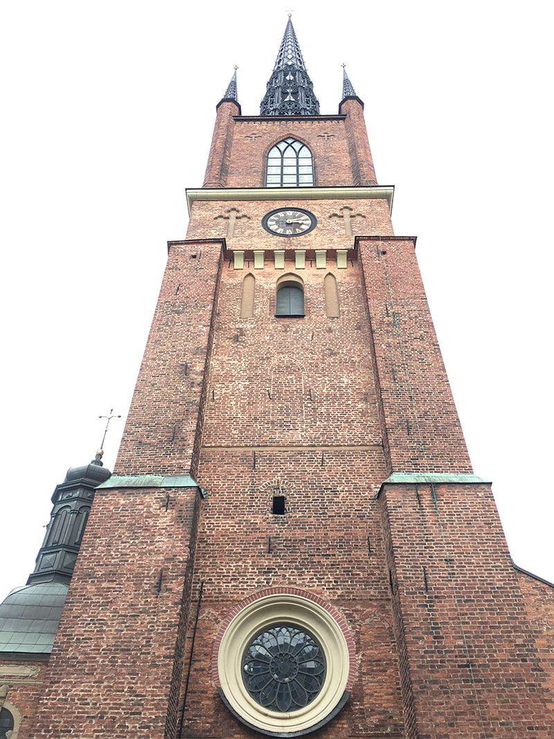 Un paseo por Gamla Stan - Estocolmo - Iglesia de Riddarholmen