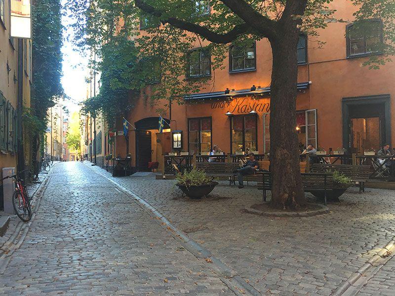 Un paseo por Gamla Stan - Estocolmo - Plazuela