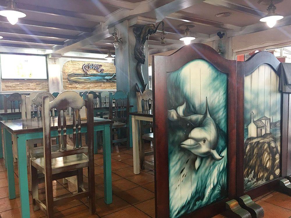 Valdoviño - Restaurante A Saiña - Salón