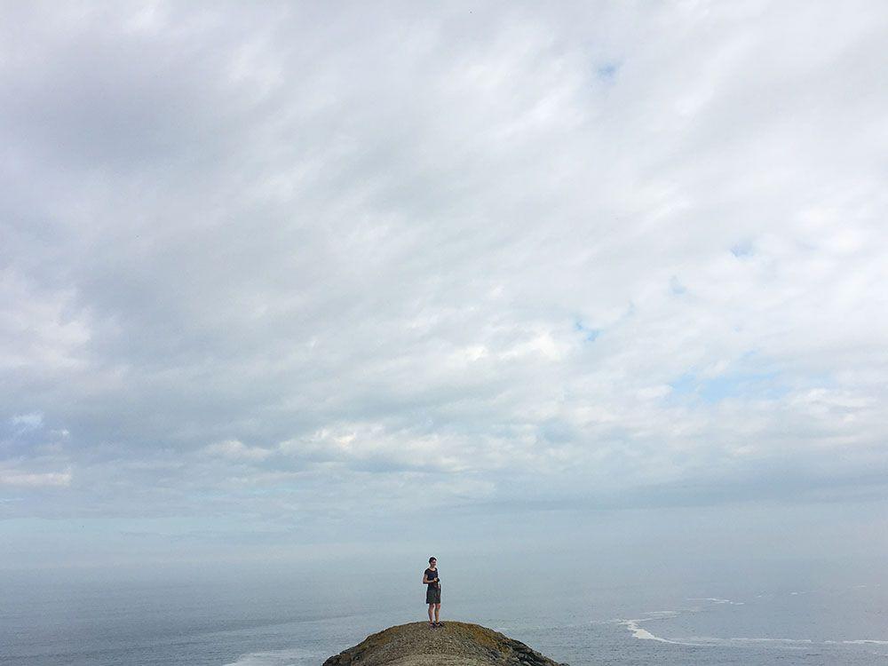 Valdoviño - A Coruña - Faro da Frouxeira - Océano