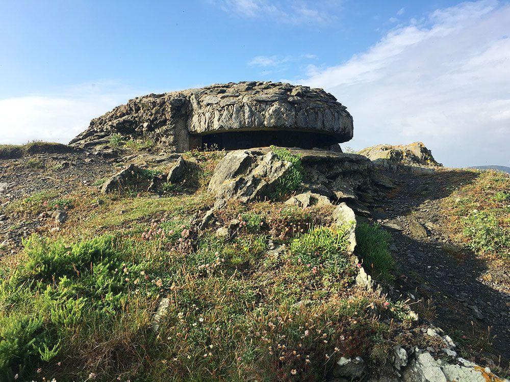 Valdoviño - A Coruña - Faro da Frouxeira - Trinchera
