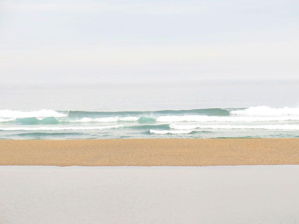 Valdoviño - A Coruña - Extensa duna que separa laguna y océano