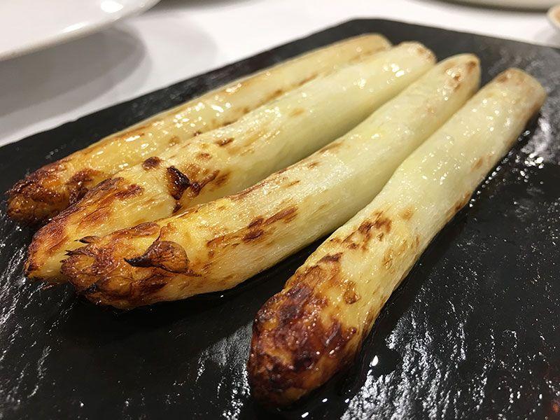Verduras de Tudela - Navarra - Mejores pintxos de Tudela - Espárragos blancos del Hostal Restaurante Remigio