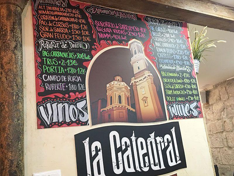 Verduras de Tudela - Navarra - Mejores pintxos de Tudela - Vinos de La Catedral
