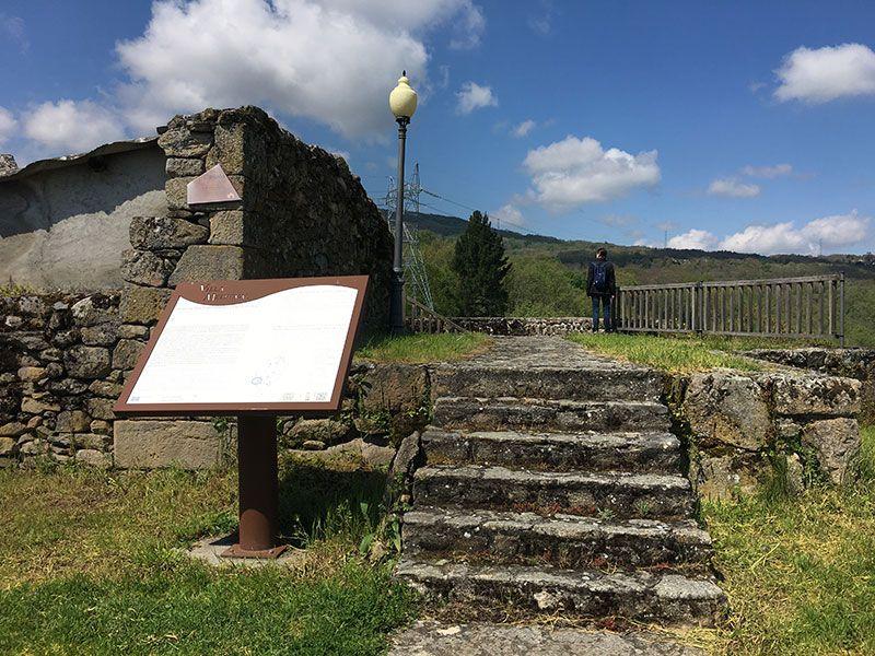Villa medieval de Manzaneda - Trives - Castillo