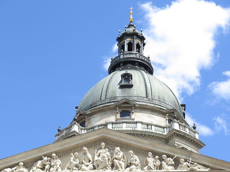 Visita a la Basílica de Budapest - Cúpula