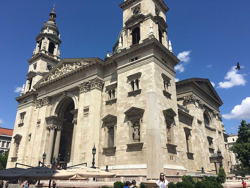 Visita a la Basílica de Budapest - Edificio
