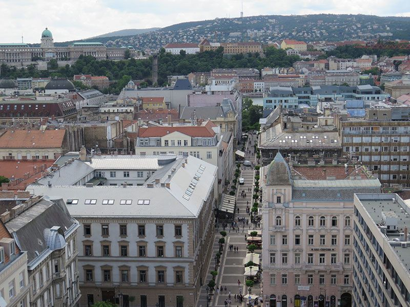 Visita a la Basílica de Budapest - Vistas