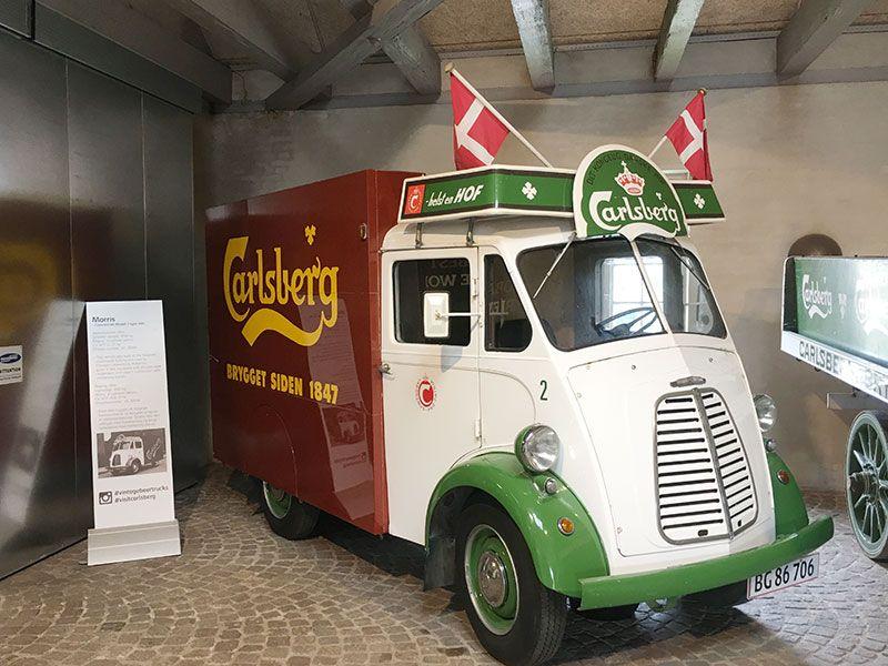 Visita a la fábrica Carlsberg - Copenhague - Antigua camionetilla de reparto