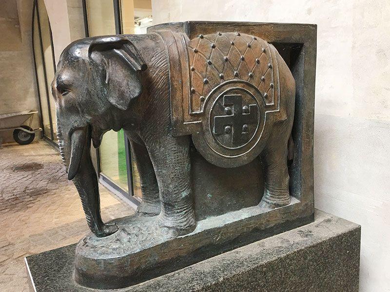 Visita a la fábrica Carlsberg - Copenhague - El elefante ha sido uno de los símbolos de Carlsberg