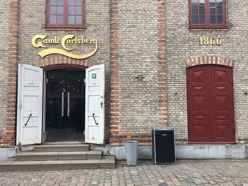 Visita a la fábrica Carlsberg - Copenhague - Entrada