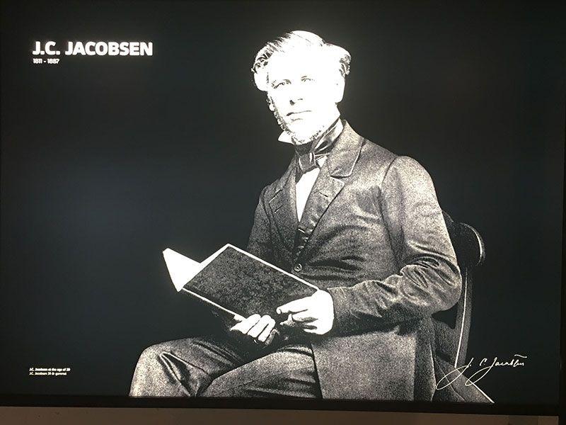Visita a la fábrica Carlsberg - Copenhague - Fundador J.C. Jacobsen