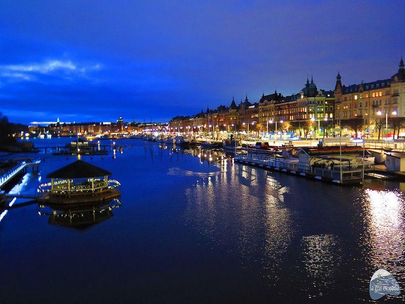 Qué ver en Estocolmo en 1 dia - Estocolmo de noche