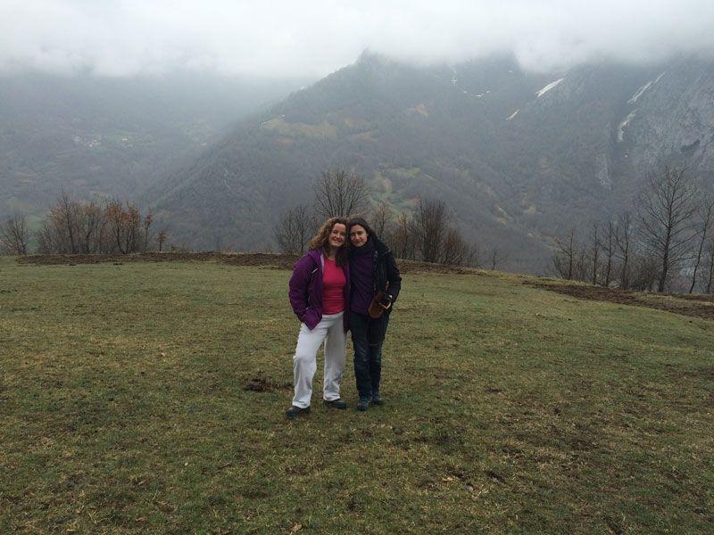 Vistas de los Picos de Europa en la ruta 4x4