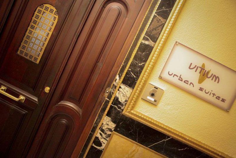 Vitium Urban Suites - Hostal en la Gran Vía de Madrid - Entrada