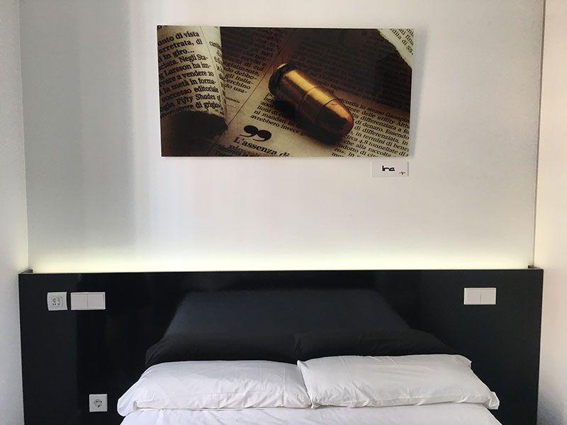 Vitium Urban Suites - Hostal en la Gran Vía de Madrid - Cama