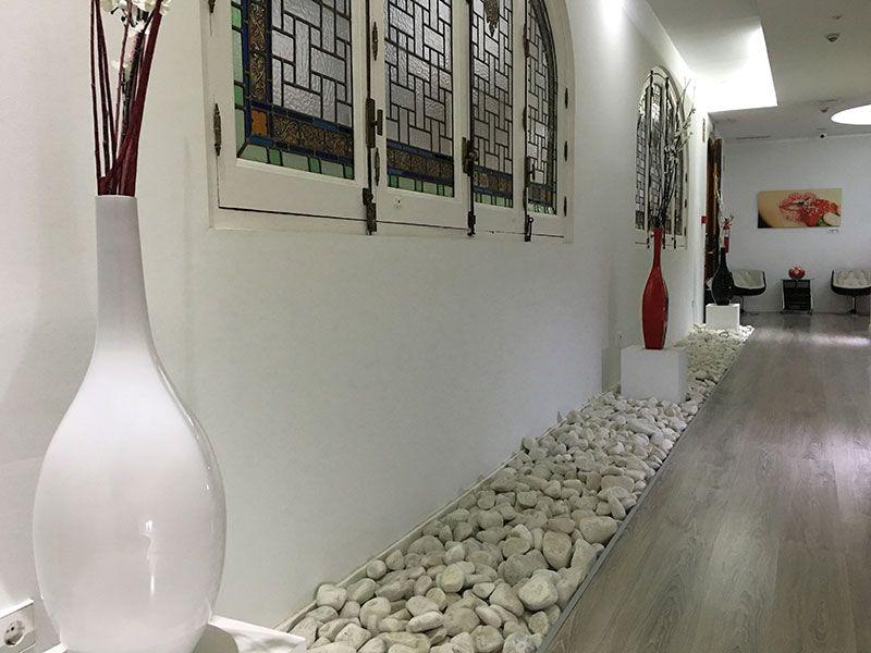 Vitium Urban Suites - Hostal en la Gran Vía de Madrid - Pasillo de la recepción
