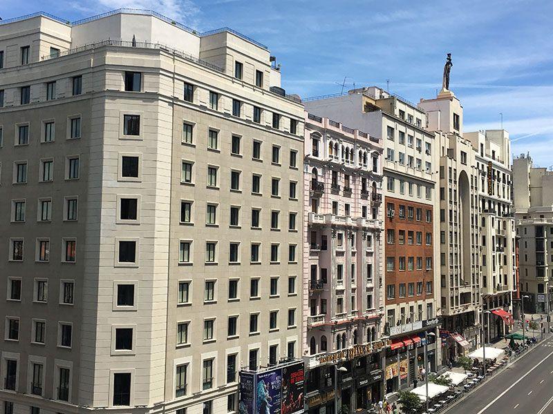 Vitium Urban Suites - Hostal en la Gran Vía de Madrid - Vistas