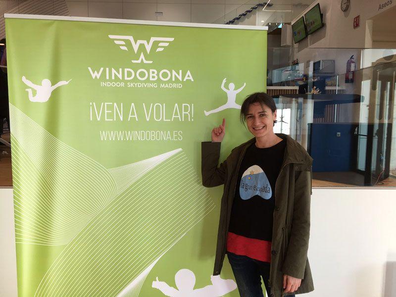 Windobona Madrid - Primer túnel de viento de Madrid capital - #VenAVolar