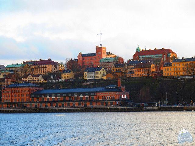 Fotografiska museet visto desde el barco