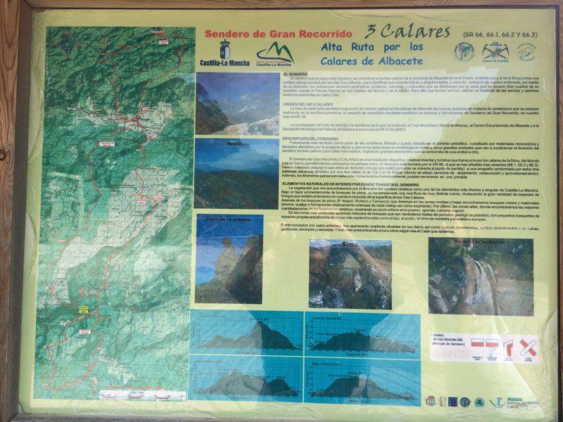 Yeste turismo rural - Ruta GR 66 por los Calares de Albacete