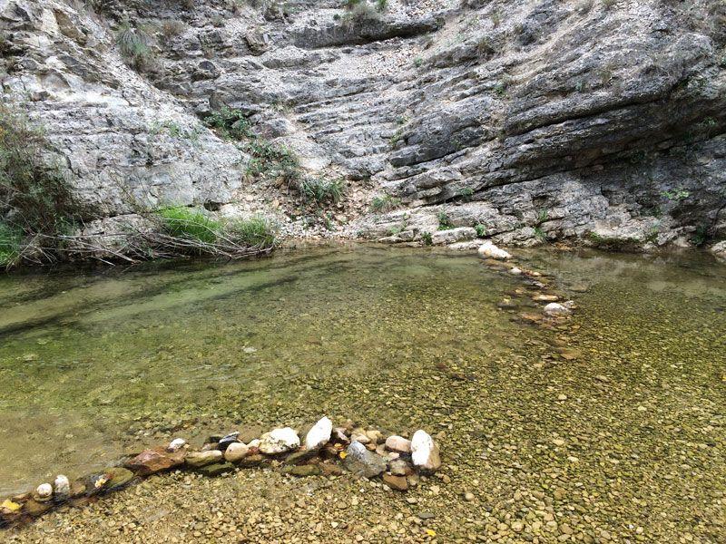 Yeste turismo rural - Río Tus a su paso por el balneario Baños de Tus