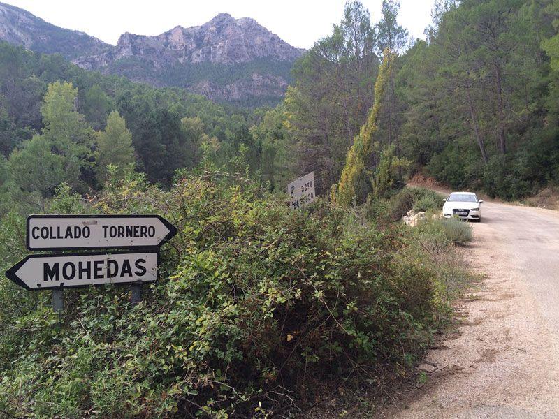 Yeste turismo rural - Indicación para llegar a Collado Tornero
